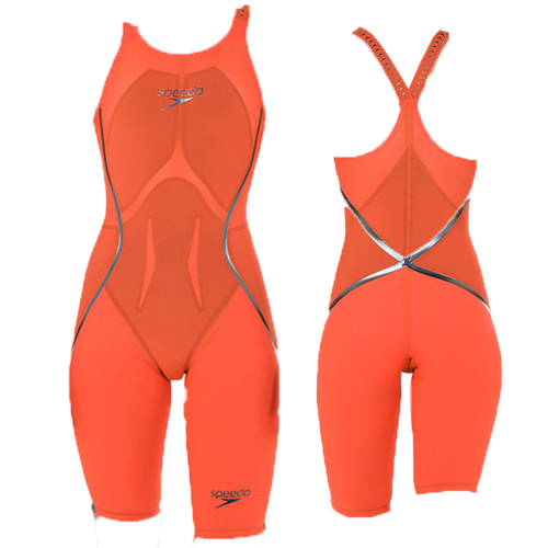 [스피도]LZR Racer X - Kneeskin Openback - Orange Color
